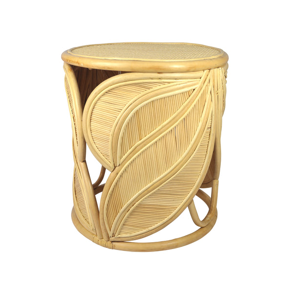 Strelitzia Rattan Side Table