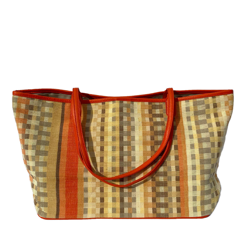 The Tribe Tote ~ Burnt Orange