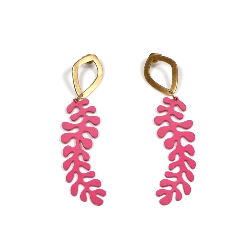 Medinilla Earrings ~ Pink