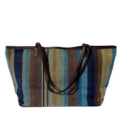 The Tribe Tote ~ Classic Blue