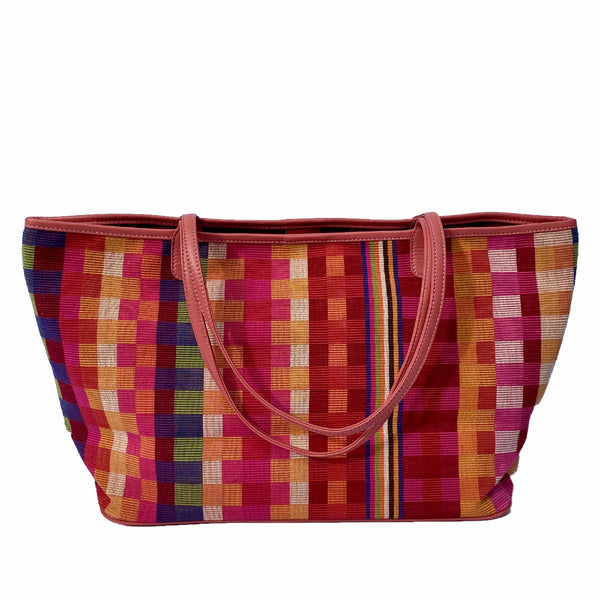 The Tribe Tote ~ Pink