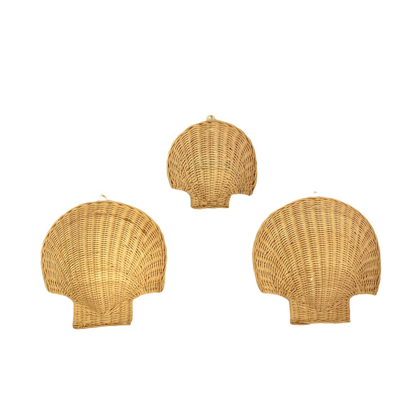Rattan Wall Shell  ~ Small