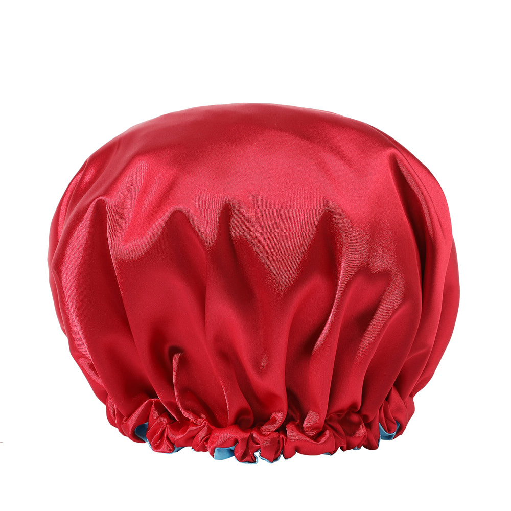 Ajustable Double Layered Reversible Satin Bonnet