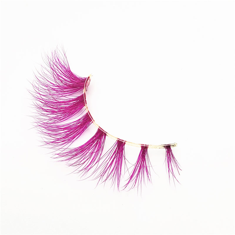 Rose - Luxury Colored Mink Lashes