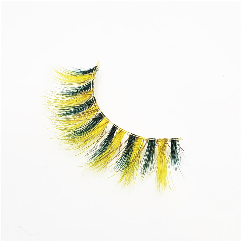 Sunflower - Luxury Colored Mink Lashes