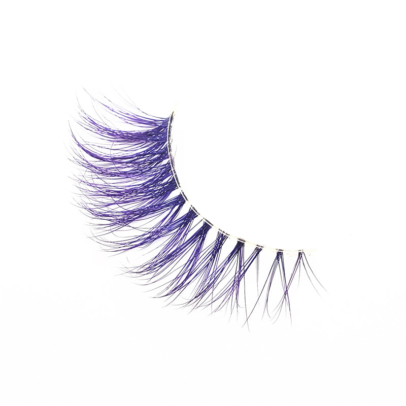 Violet - Luxury Colored Mink Lashes
