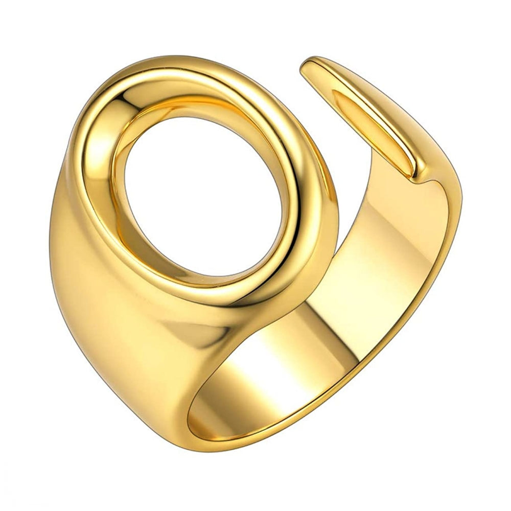 Adjustable Big Initial Rings