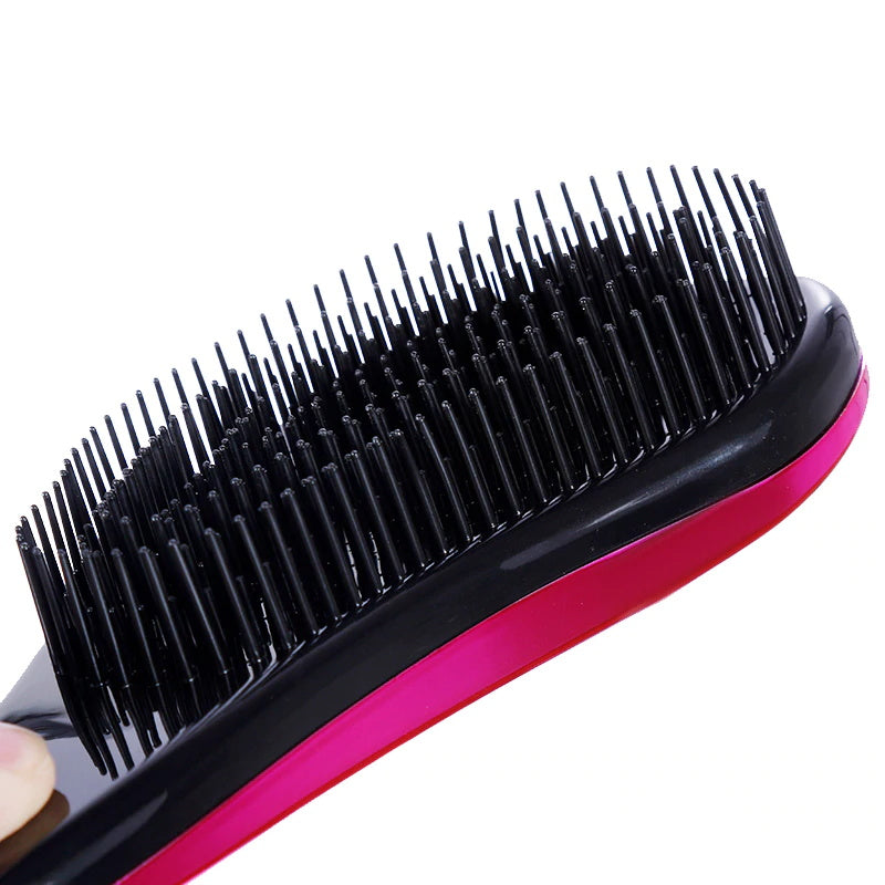 Electroplated Detangling Hair Brush
