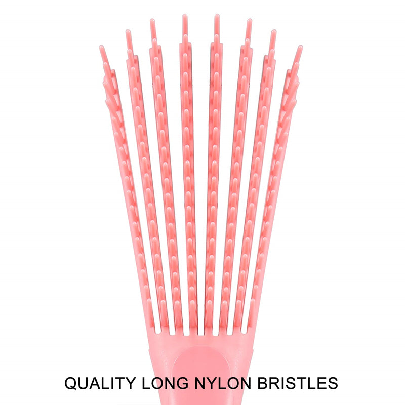 Flexible Bristles Detangling Brush for Natural Hair