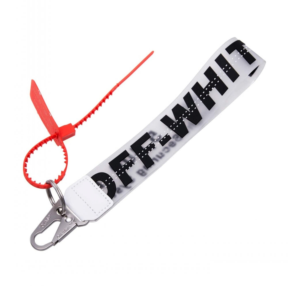 Off White Inspired Jelly Keychain