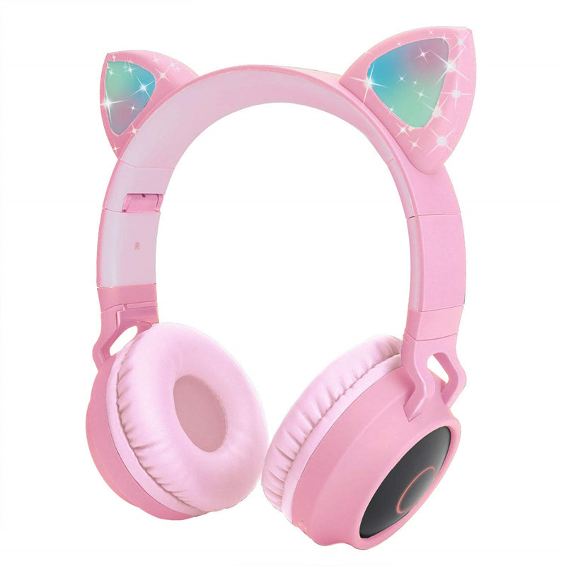 LED Bluetooth Cat Ear Headphone