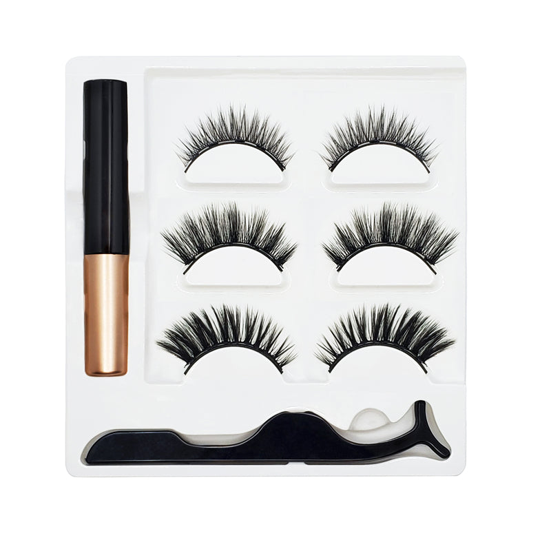 Flamingo - Magnetic Eyelashes Kit