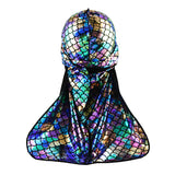 Mermaid Holographic Spandex Durag