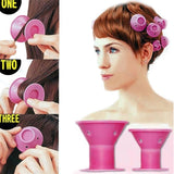 Silicone Sleeping Hair Curlers