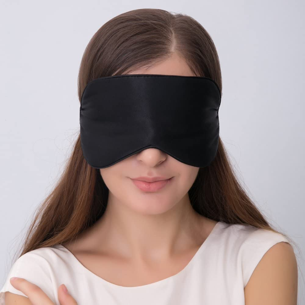Silk Sleep Mask With Adjustable Strap