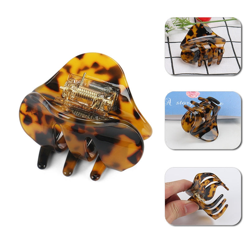Tortoise Acetate Hair Claw