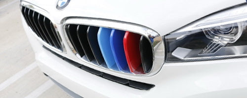 BMW Center Kidny Grille Insert Trims