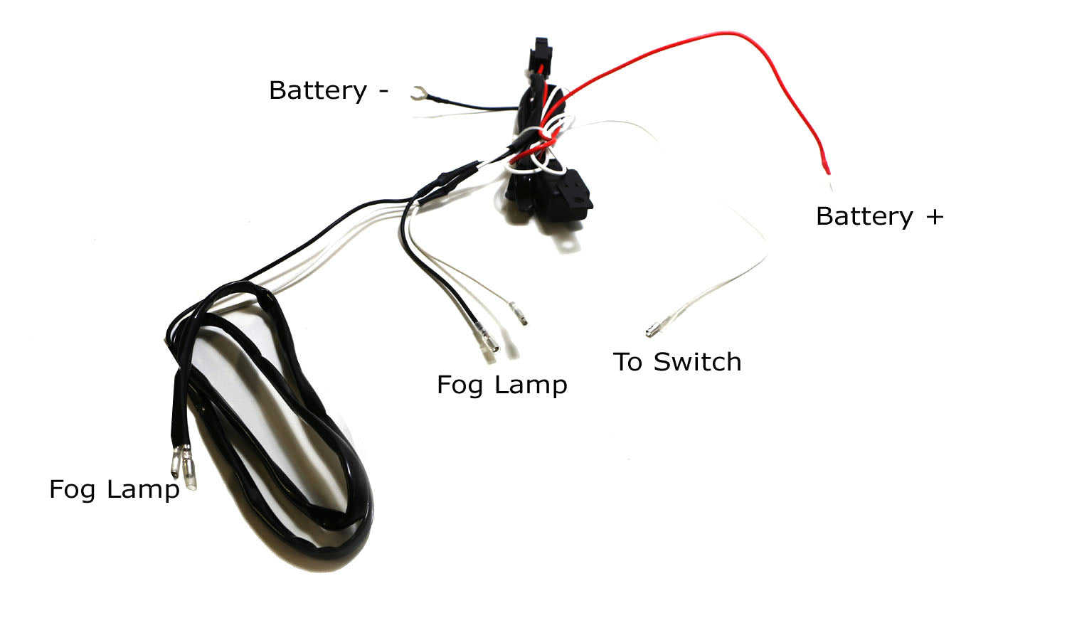 Relay Wiring Harness for LED Fog Light DRL Work Lights
