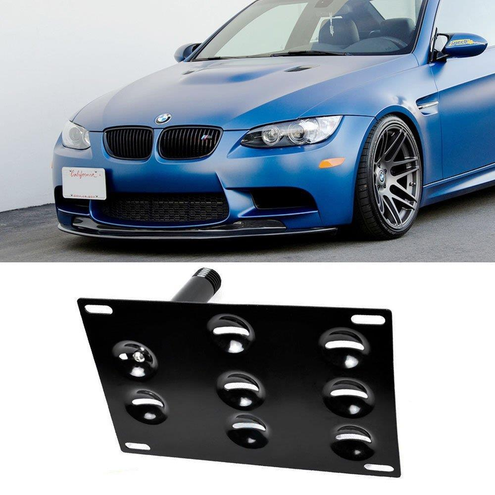 Front Bumper Tow Hook License Plate Mounting Bracket Holder FITS BMW 1 3 X5 USA