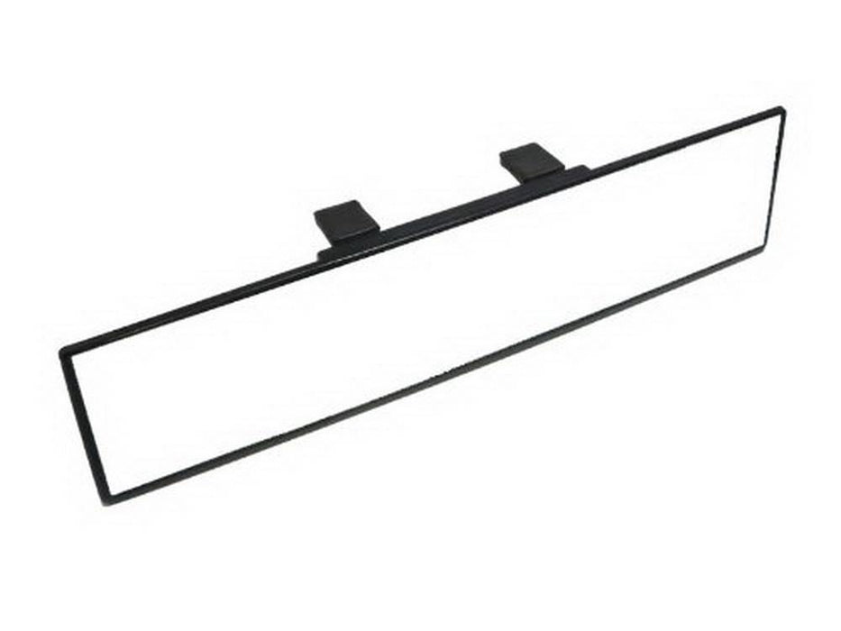300mm Flat or Curve Wide Clip On Rear View Mirror