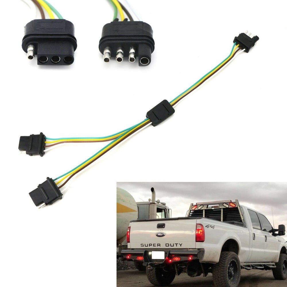 4 Wire Trailer Wiring Diagram Troubleshooting For Tailgate