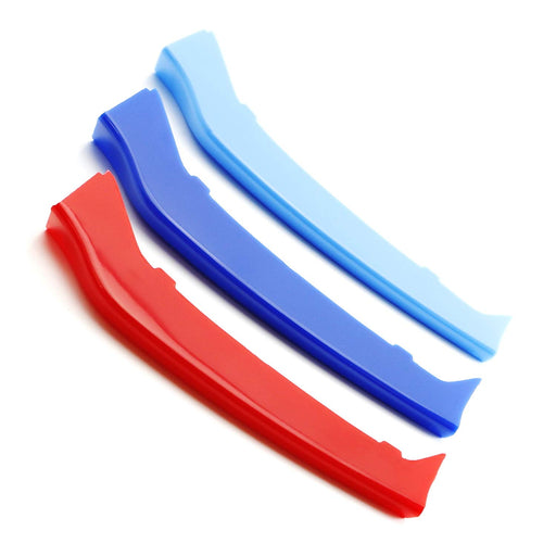 lanyun M Colors Grille Insert Trims Decorate For bmw 2014-up F32 F33 F36 4 Series w//9-Beam Grill red blue light blue