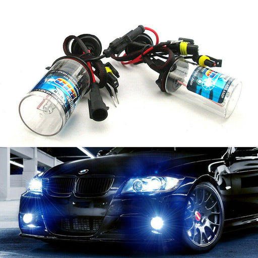 Pair 35W AC Aftermarket HID Replacement Bulbs, H1 H3 H4 H7 H11 H13 880 9005 9006-iJDMTOY