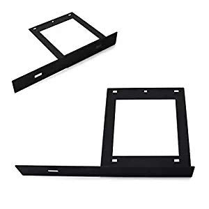 No Drill Required Front License Plate Mounting Bracket Relocator For 2008-up Dodge Challenger-iJDMTOY