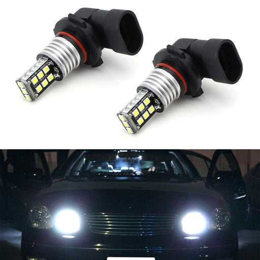 Xenon White 15-SMD High Power 9005 HB3 LED High Beam Daytime Running Light Kit