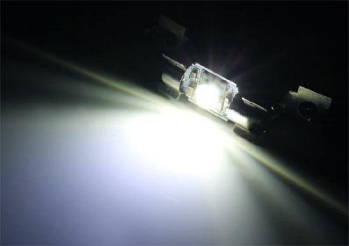 "Extremely Bright 5W CREE Q5 XP-E High Power 1.25"" 31mm or 1.72"" 41mm Festoon LED Bulbs-iJDMTOY"