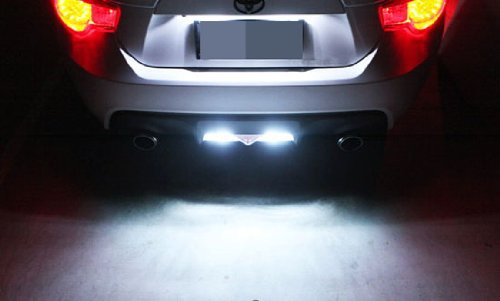 Details about  /2x 2018 60W Us Stock Bright White T10 168 158 CREE LED SMD Backup Reverse Light