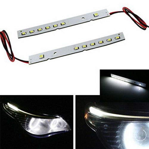 HID Matching Xenon White LED Eyelid Modules For 2008-2010 BMW E60 5 Series 528i 535i 550i M5 LCI-iJDMTOY