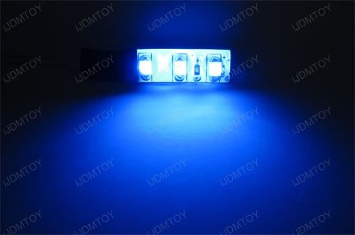 Xenon White, Ultra Blue, Red, Purple or Green Devil Demon Eye LED Strips Modules For Projector Headlights Retrofit-iJDMTOY