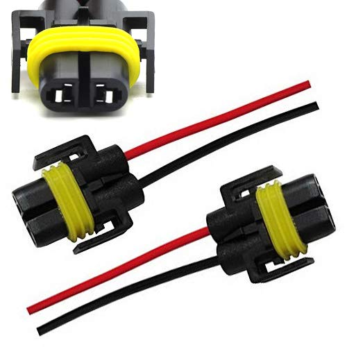 H11 H8 880 881 Male Femal Adapter Wiring Harness Socket Wire For Head Fog Light