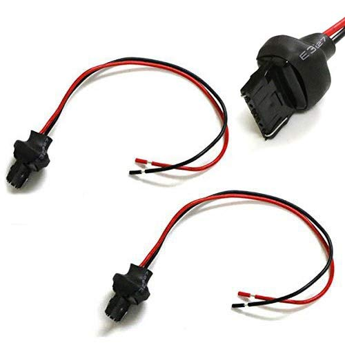 Headlight Tail Lights 7440 T20 Male Adapter Wiring Harness ... on