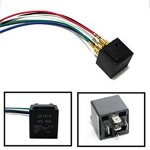 Pleasant Fog Light Daytime Lamps 5 Pin 12V 40A Spdt Relay Socket Wire Wiring Digital Resources Xeirawoestevosnl