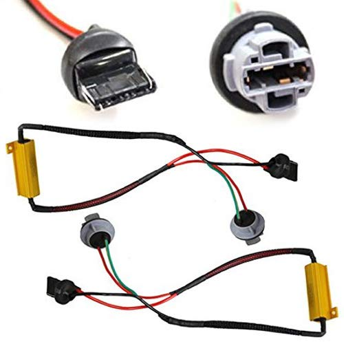 Extension Wire Pigtail Female 890 Harness Front Turn Signal Backup Reverse Plug