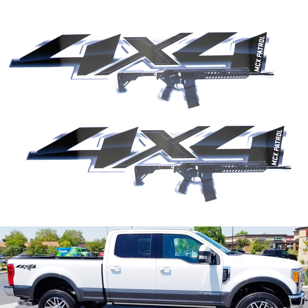 12 13 14 Ford F150 FX4 Off Road Decals FR Stickers Truck Bed Side set of 2