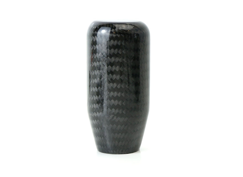 Glossy Black Real Carbon Fiber Shift Knob For Most Car 6-Speed, 5-Speed, 4-Speed Manual or Automatic, etc-iJDMTOY