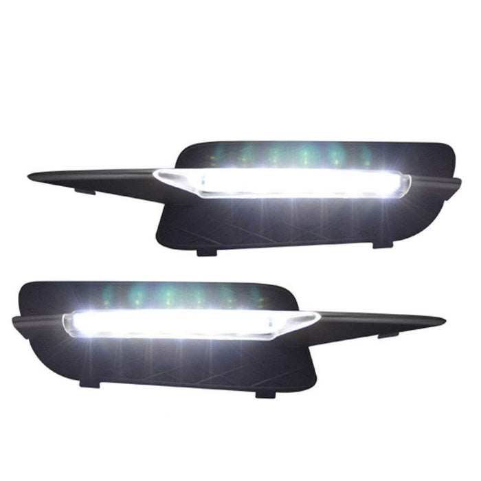 Xenon White 18W High Power LED Daytime Running Light DRL Lamps For 2007-2010 Pre-LCI BMW E70 X5-iJDMTOY