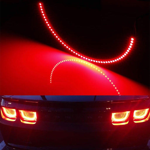 (4) Red LED Afterburner Effect Taillamp Halo Rings For 10-13 Chevy Camaro-iJDMTOY
