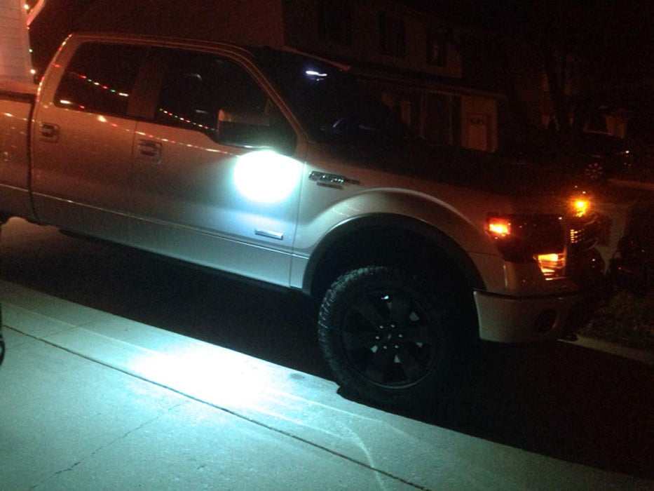Ford F150 Raptor Lincoln Led Under Side Mirror Puddle