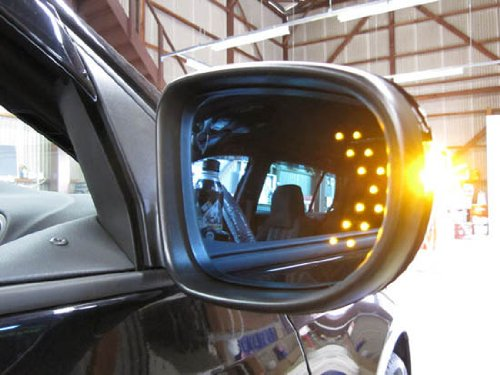 Universal Fit Ultra Slim Side Mirror Led Turn Signal