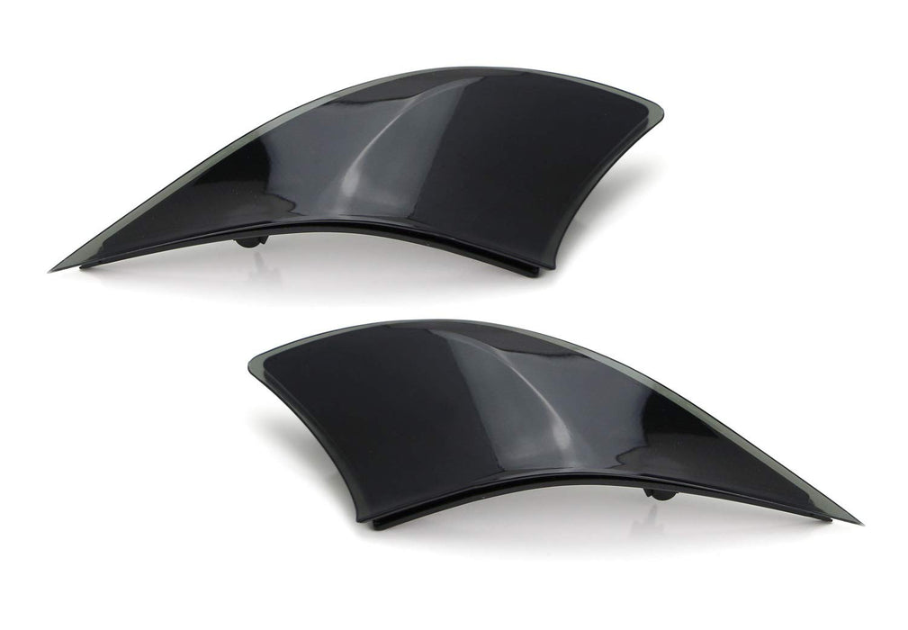 Smoked Lens Rear Bumper Reflector Lenses For 2014-2018 Lexus IS IS250 IS300 IS350 IS200t IS-F, OE-Spec LH RH Assembly-iJDMTOY