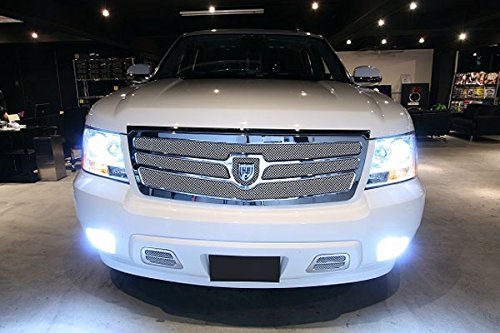 Super Bright Xenon White 33-SMD Universal Fitting LED Replacement Bulbs For  Car Fog Lights (Universal Fit H8 H11 9006 5202 P13W, etc)