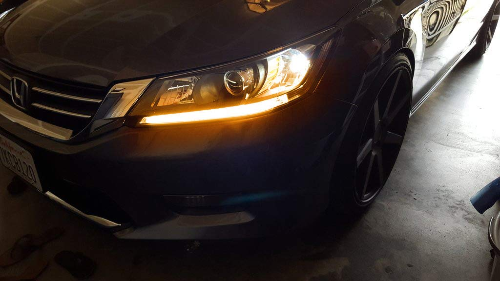 13 15 Honda Accord Even Illuminating Headlight Led Drl Retrofit Ijdmtoy Com