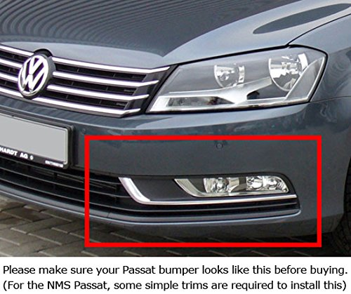 Xenon White Led Daytime Running Lights For 2012 2016 Volkswagen Passat Oem Fit Drl Bezel Assembly Powered By 6 Pieces High Power Led Lights Each Lamp