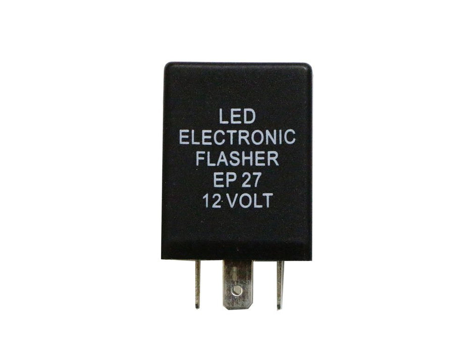5-Pin EP27 FL27 Electronic LED Flasher Relay Fix For LED Turn Signal Bulbs Hyper Flash Fix-iJDMTOY