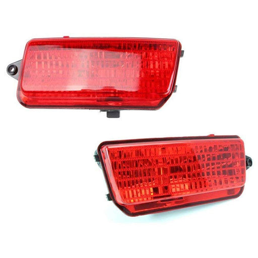 complete led rear fog light kit for 2005-2010 jeep grand cherokee wk1,  includes
