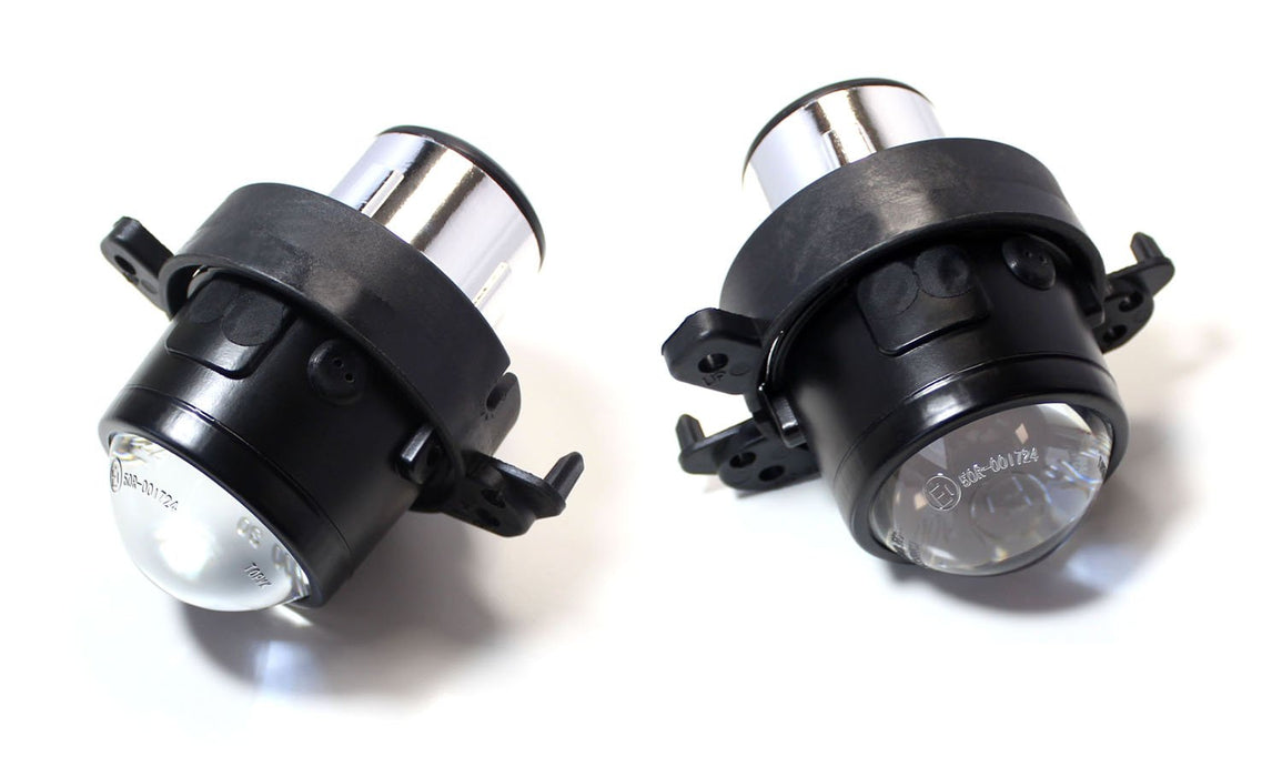 (2) OEM Replace Projector Fog Light Housings For Mercedes B E M S CLS CL ML GL GLK Class etc., HID Ready (Bulbs Not Included)-iJDMTOY